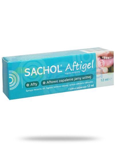 Sachol Aftigel aftowe zapalenie jamy ustnej 12 ml