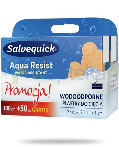 Salvequick Aqua Resist plaster 2x 75cm x 6cm [DWUPAK]