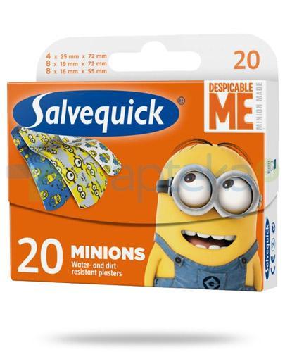 Salvequick Minionki plastry 20 sztuk