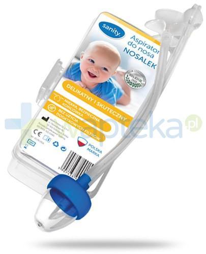 Sanity Nosalek aspirator do nosa 1 sztuka