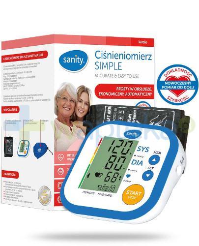 Sanity Simple AP 1116 ciśnieniomierz automatyczny naramienny 1 sztuka