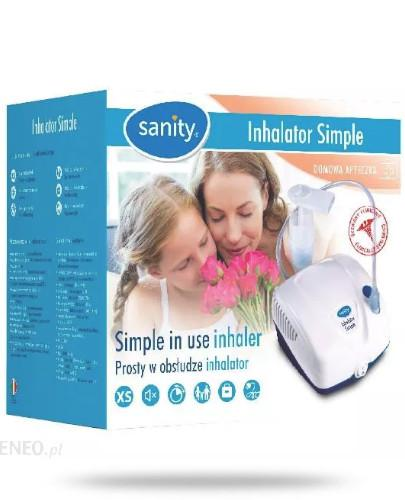 Sanity Simple (smart & easy) inhalator tłokowy 1 sztuka