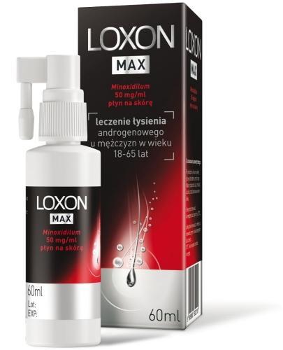 Sanofi Loxon Max 5% płyn przeciwko wypadaniu włosów 60 ml