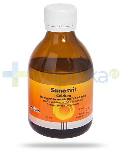 Sanosvit Calcium syrop 150 ml