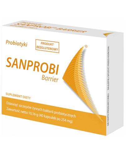 Sanprobi Barrier probiotyk 40 kapsułek