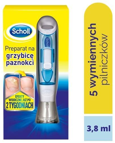 Scholl Skuteczny preparat na grzybicę paznokci, dyskretne leczenie grzybicy paznokci 3,8 ml