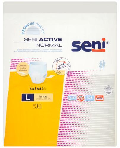 Seni Active Normal elastyczne majtki chłonne rozmiar L 30 sztuk