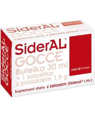 SiderAL Gocce krople 30 ml + 1 saszetka