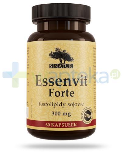 Sinatur Essenvit Forte 300mg fosfolipidy sojowe 60 kapsułek