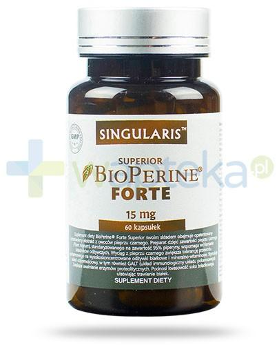 Singularis Superior BioPerine Forte 15mg 60 kapsułek