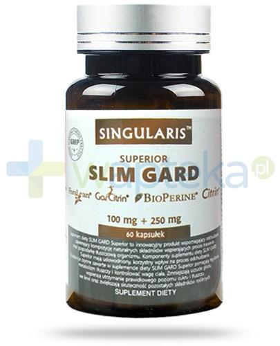 Singularis Superior Slim Gard Garcinia cambogia odchudzanie 60 kapsułek 100 mg + 250 mg