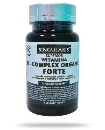 Singularis Witamina B-complex Organic 30 kapsułek