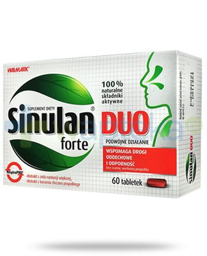 Sinulan Duo Forte 60 tabletek