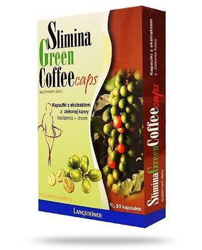 Slimina Green Coffee Caps 30 kapsułek