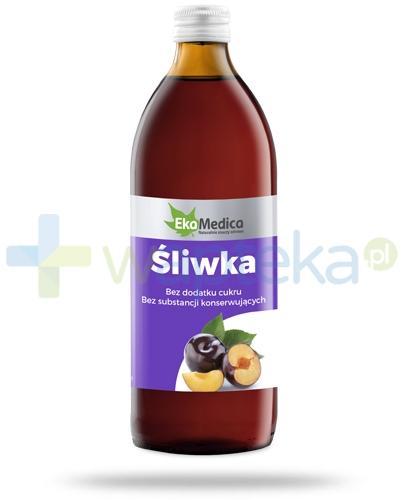 Śliwka 100% sok EkaMedica 500ml