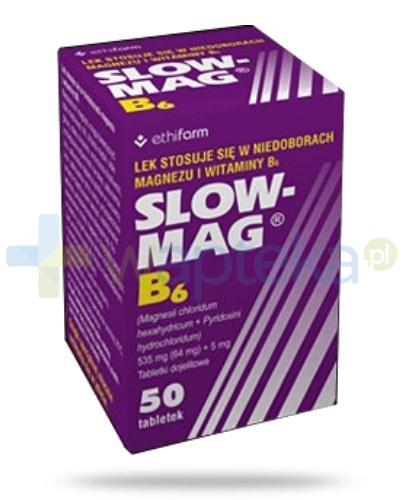 Slow Mag B6 50 tabletek