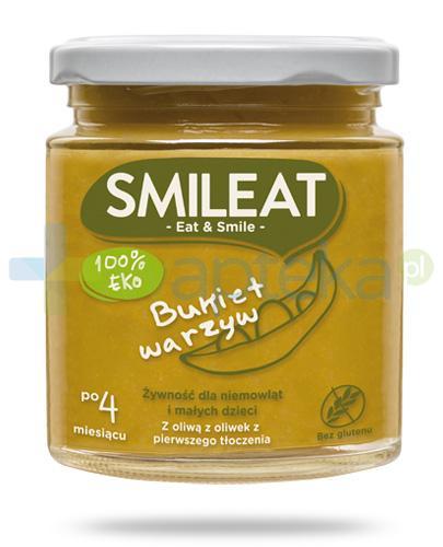Smileat 100% Eco bukiet warzyw żywność dla dzieci 4m+ 230 g