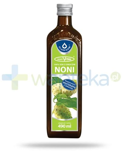 Sok z owoców noni 100% noniVital 490 ml