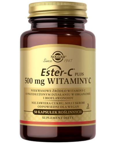SOLGAR Ester-C Plus 500 mg witaminy C 50 kapsułek