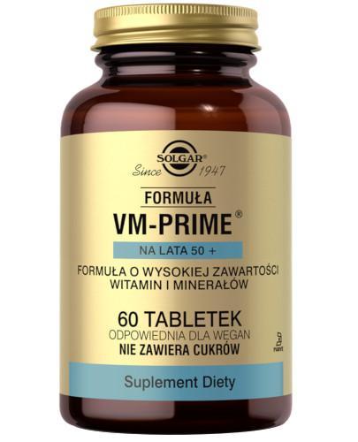 SOLGAR Formuła VM-Prime na lata 50+ 60 tabletek Z TYM PRODUKTEM DOSTAWA GRATIS!