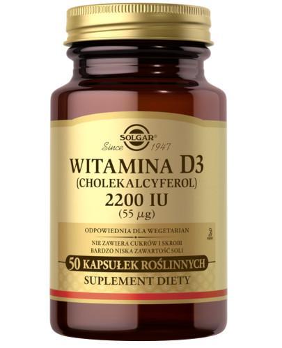 Solgar witamina D3 2200 50 kapsułek