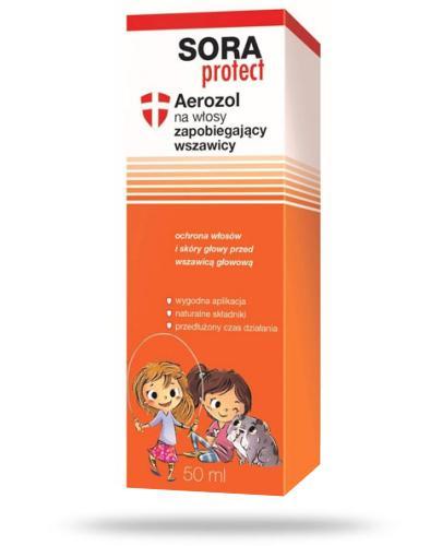 Sora Protect aerozol na włosy zapobiegający wszawicy 50 ml