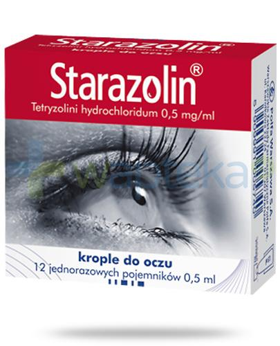 Starazolin 0,5 mg/ml krople do oczu 12x 0,5 ml