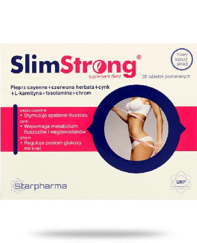 Starpharma SlimStrong 30 tabletek powlakanych