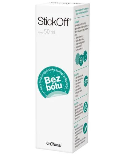 StickOff spray do usuwania plastrów i opatrunków 50 ml
