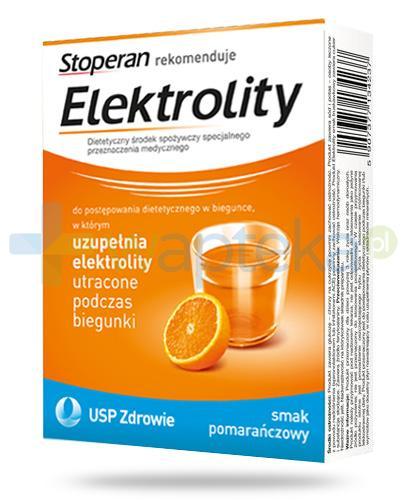 Stoperan Elektrolity smak pomarańczowy 5 saszetek