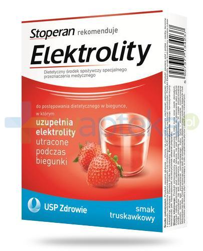 Stoperan Elektrolity smak truskawkowy 5 saszetek