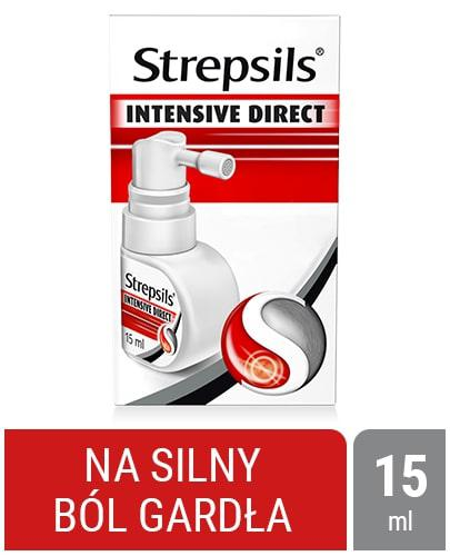 Strepsils Intensive Direct aerozol 15 ml