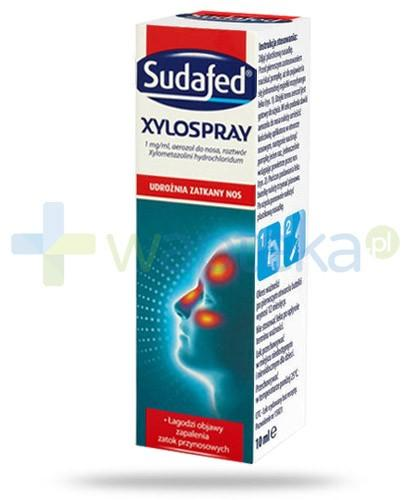 Sudafed Xylospray udrażnia zatkany nos 10 ml