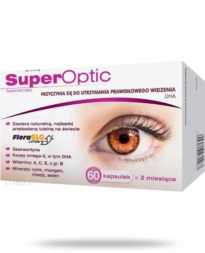 SuperOptic z DHA do utrzymania prawidłowego widzenia 60 kapsułek