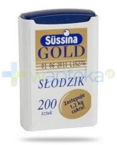 Sussina Gold słodzik z dozownikiem 200 tabletek