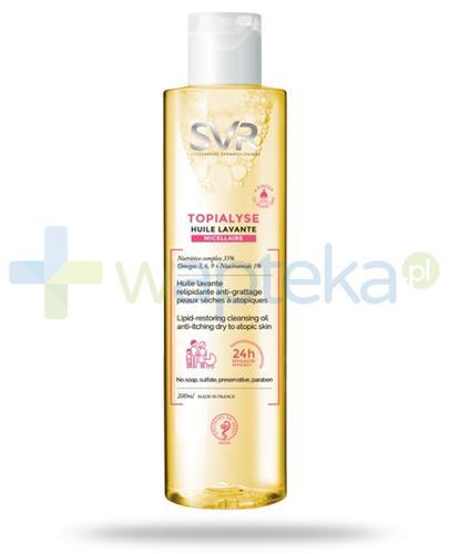 SVR Topialyse Huile Lavante Micellaire olejek do mycia i kąpieli dla skóry suchej, wrażliwej i atopowej 200 ml
