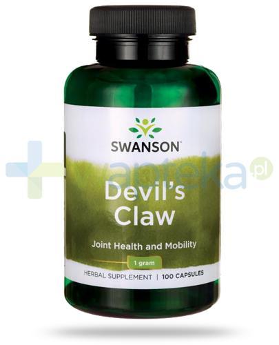Swanson Devil's Claw (Diabelski Pazur) 500mg 100 kapsułek