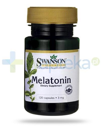 Swanson Melatonin 3mg 120 kapsułek