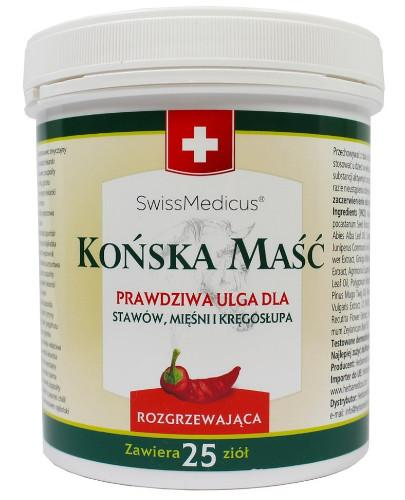 SwissMedicus maść końska rozgrzewająca 500 ml