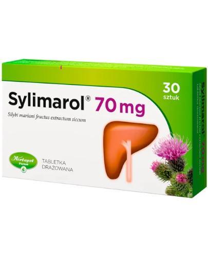 Sylimarol 70mg 30 tabletek