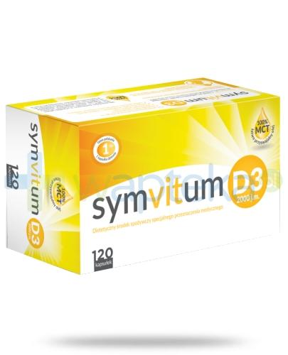 Symvitum D3 2000 j.m. 120 kapsułek - Data ważności 30-11-2017