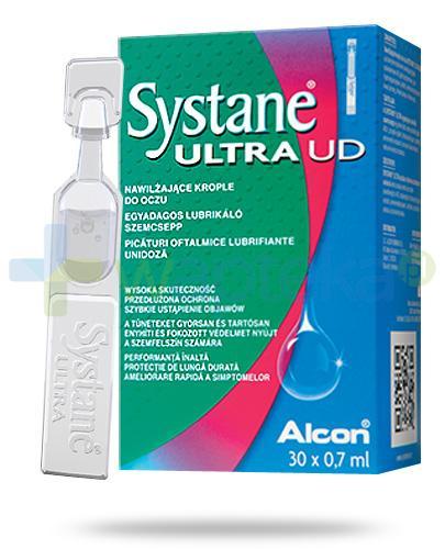 Systane Ultra UD nawilżające krople do oczu 30x 0,7 ml