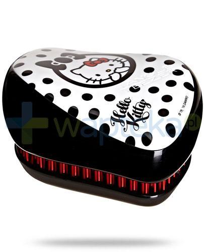 Tangle Teezer Compact Styler Hello Kitty szczotka do włosów kolor czarno-biały 1 sztuka