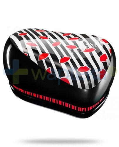 Tangle Teezer Compact Styler Lulu Guinness szczotka do włosów kolor czarno-biały w paski 1 sztuka