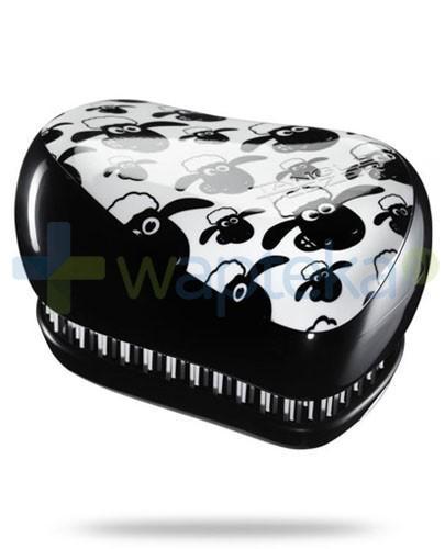 Tangle Teezer Compact Styler Shaun The Sheep szczotka do włosów kolor czarny w owce 1 sztuka