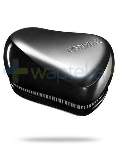 Tangle Teezer Men Compact szczotka do włosów dla mężczyzn kolor czarno-srebrny 1 sztuka