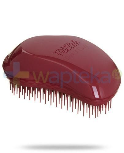 Tangle Teezer Original Thick & Curly szczotka do włosów grubych i kręconych kolor bordowy 1 sztuka