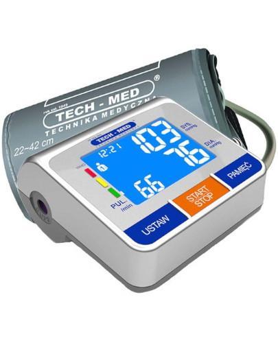 Tech-Med TMA-500 Pro ciśnieniomierz elektroniczny naramienny 1 sztuka