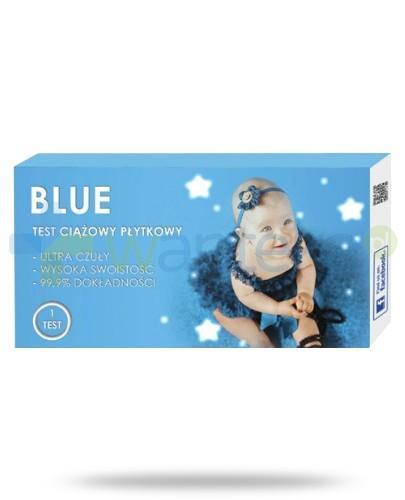 Blue test ciążowy płytkowy 1 sztuka