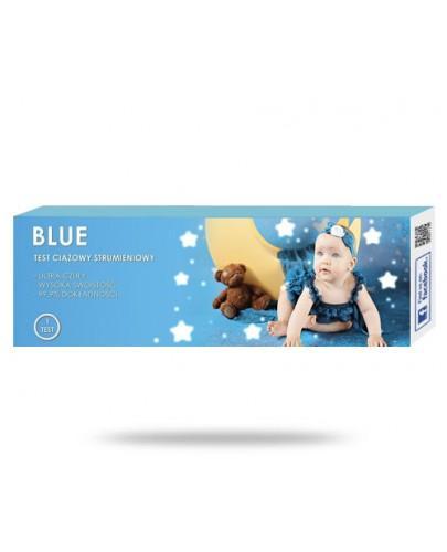 Blue test ciążowy strumieniowy 1 sztuka